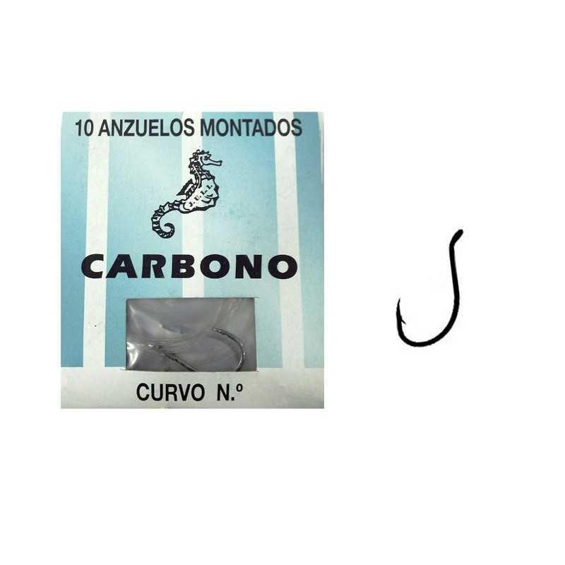 10122-Attak Anzuelos montados Juli Carbono