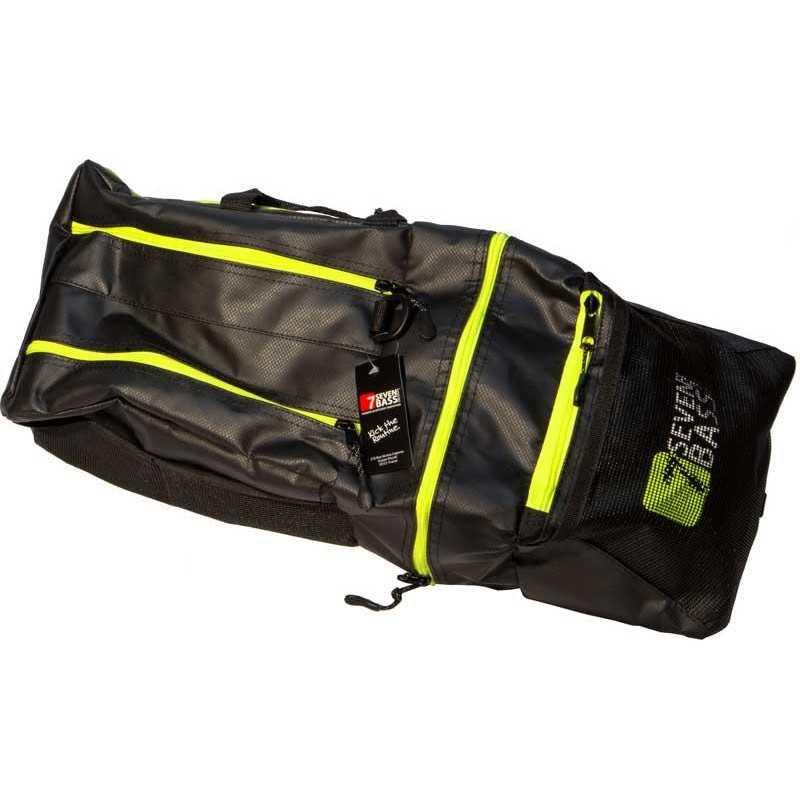 3556178029635-Bolsillos laterales Seven Bass Flex Cargo Bag Gator Jaune