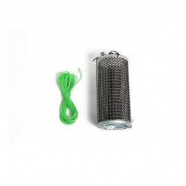 3541100037598-Seanox Cebador Inox 23 Cm con peso de 1 Kg