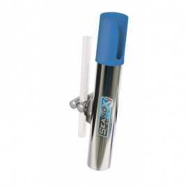 3541100750220-Seanox Portacañas Inox. Baranda Orientable Azul