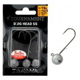 G6385-Daiwa DJig Head SS 15 gr