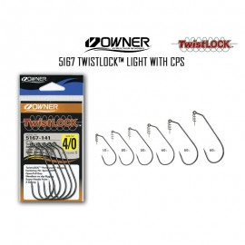 21741-Owner Twistlock Designed To Gary Yamamoto Anzuelos