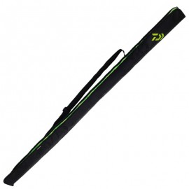 3660393250283-Daiwa Portable Rod Case 160x10 cm Funda caña Negro / Verde