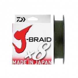 90101-Daiwa J-braid X8 150 mt Dark green