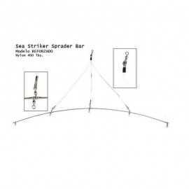 096337027537-Attak Barra Separadora Excitadores Reforzada Spreader Bar