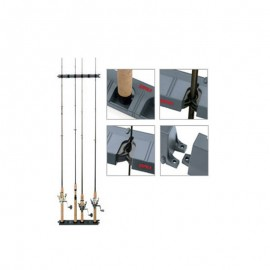 Rapala Lock 'N Hold Rod Rack Pgrh-6 Soporte 6 Cañas