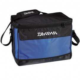 3660393233231-Daiwa Bolsa Nevera Blanda 45x29x24 Negro/azul