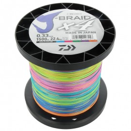 G6005-Daiwa J-Braid X4 1500 mt Multicolor