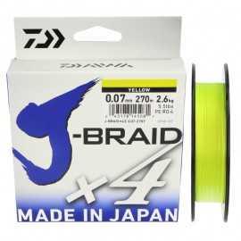 21922-Daiwa J-Braid X4 270 mt Amarillo
