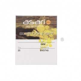 20013-Asari Perlas 4 Agujeros ovaladas