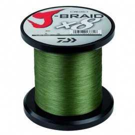 14723-Daiwa J-braid X8 1500 mt Dark Green