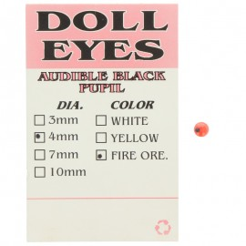 414-Attak Doll Eyes Ojos Adhesivos 4 mm