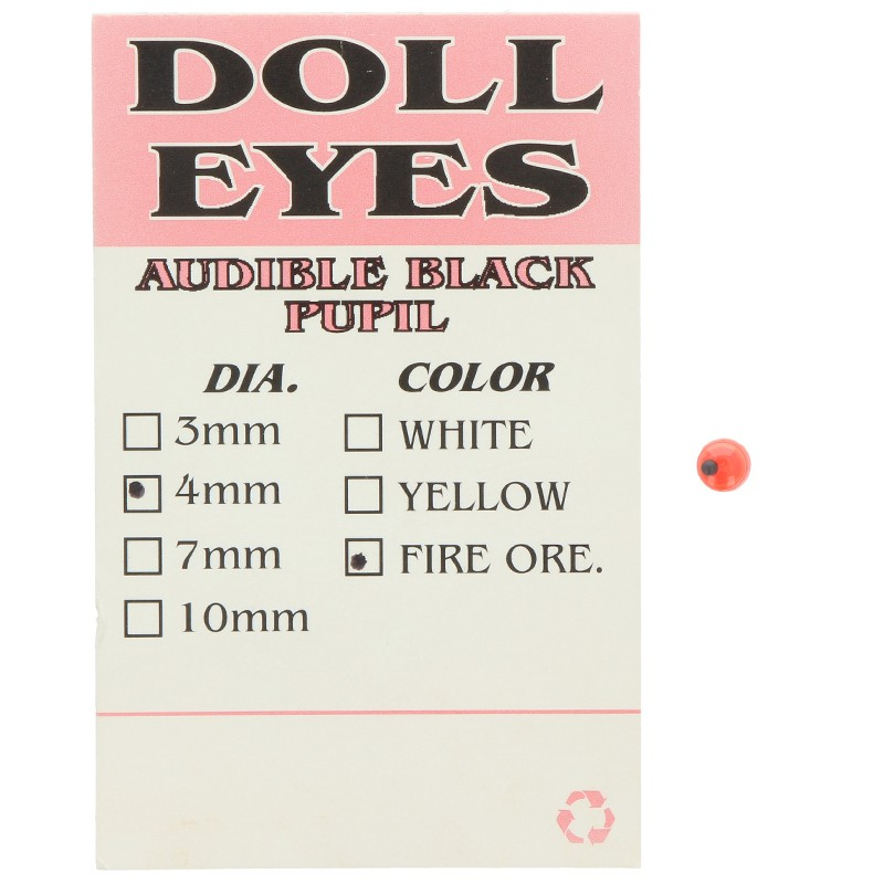 414-Attak Doll Eyes Ojos Adhesivos 4 mm