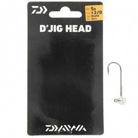 G7290-Daiwa DJig Head 5 gr