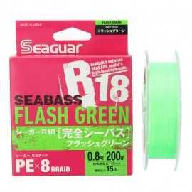G6606-Seaguar Seabass Flash Green R18  Kanzen 200 mt