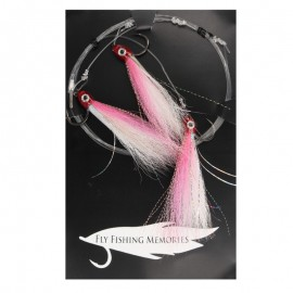 13830-Fly Fishing Memories Mosca Mar 80 lb Montaje