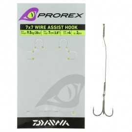 21694-Daiwa Prorex 7X7 Wire Assist Hook