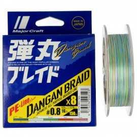 G7695-Major Craft Dangan Braid X8 150 Mt