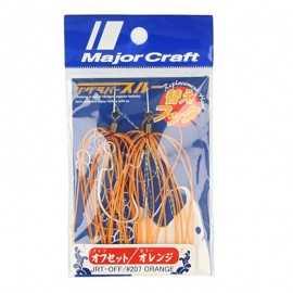 G6703-Major Craft Jig Rubber Through Off Recambio