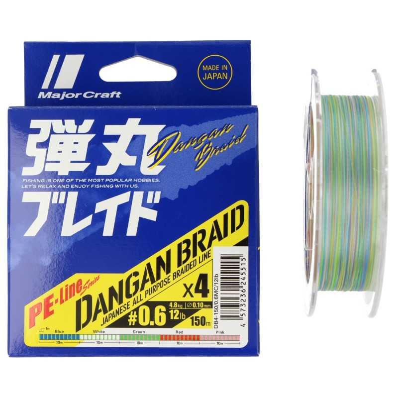 G7026-Major Craft Dangan Braid X4 150 Mt