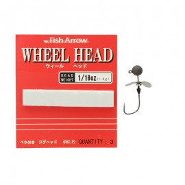 71098-Fish Arrow Wheel Head