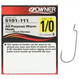 G6574-Owner Anzuelo All Purpose Worm Hook 5191